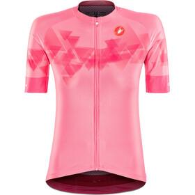 Castelli Aero PRO Täysvetoketjullinen Pyöräilypaita Naiset, pink